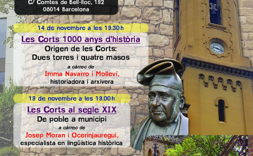 Toponímia de Les Corts. Noms de llocs i la seva història