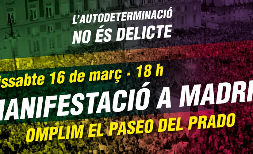 Plens els autocars a Madrid