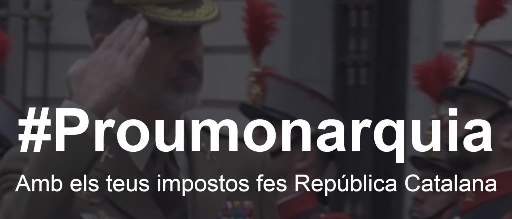 #ProuMonarquia, deixa pelada la Casa Reial només amb 10€!