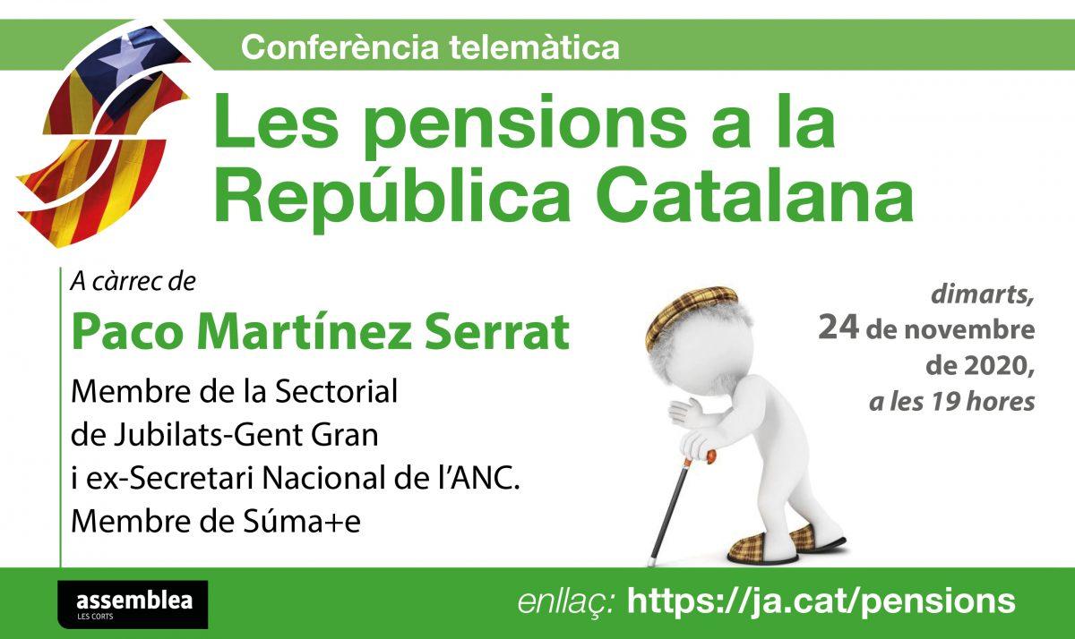 Les pensions a la República Catalana